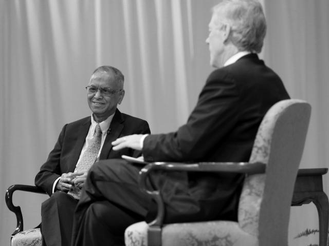 C-Suite Insights With Scott Beardsley: Infosys Founder Narayana Murthy